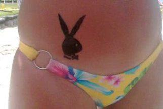 Fotos de belas tatuagens de coelhos