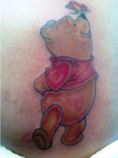 Tattoo Ursinho Pooh
