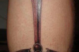 Tatuagem de Espada – fotos