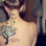 Árvores no corpo – fotos de tatuagens no braço, costas e até mão