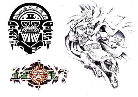 Tattoos Astecas