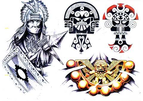 Tatuagens Astecas