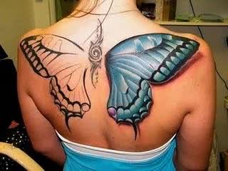 tatuagem-borboleta-costas