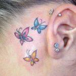 Tatuagens de borboletas são as preferidas pelas mulheres! Veja fotos