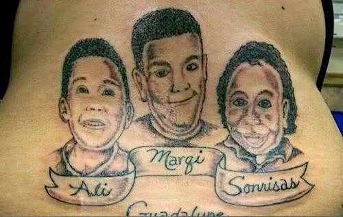 Tatuagem - Rostos