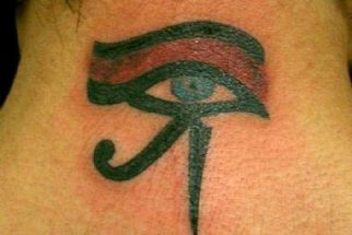 Tatuagens do Olho de Hórus – fotos e significados