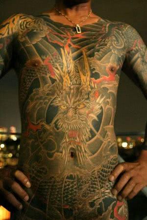 Tattoo yakuza