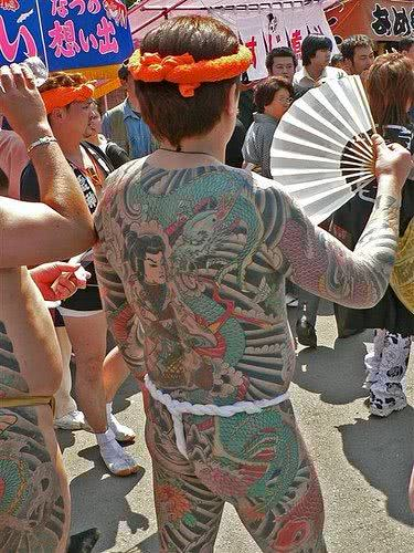 Desenhos yakuza