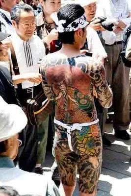 Tatuagens estilo yakuza