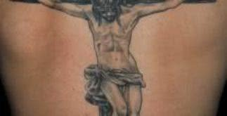 Tatuagens curiosas da imagem de Jesus Cristo – fotos