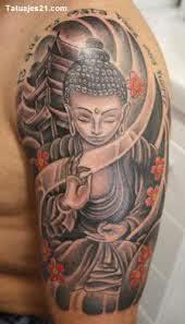 Desenho de Buda no braço