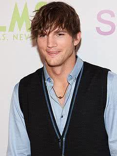 Ator Ashton Kutcher.