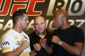 UFC 126 – vídeo da luta entre Anderson Silva e Vitor Belfort