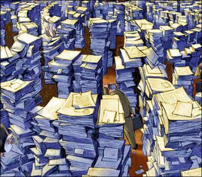 Burocracia infernal