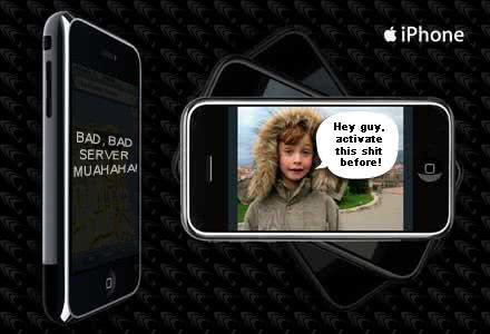 ative o seu iphone antes manézão!