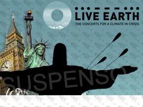 Live Earth sem o Rio