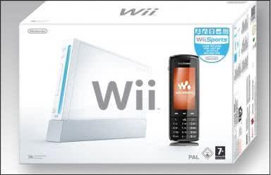 Sony Ericsson com tecnologia Wii
