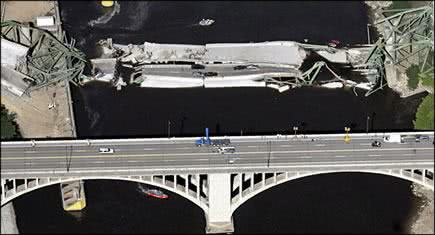 Ponte americana (Foto: Eric Miller/Reuters)