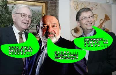 Mais ricos e suas empresas