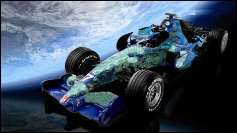 F1 Camuflation car
