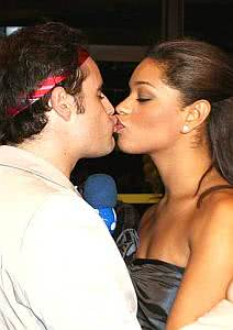 Vesgo e Juliana Alves