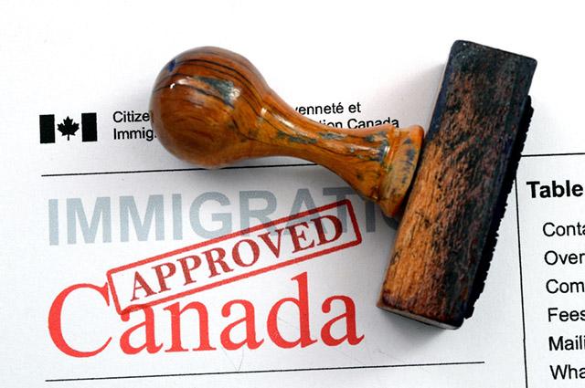 Aprovação visto canadense