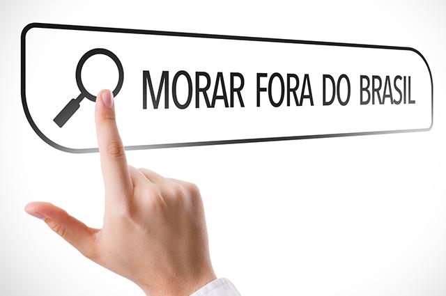 Pesquisa para morar fora do Brasil