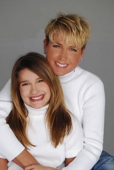 Xuxa com sua filha, Sasha