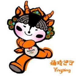 Yingying - Mascote dos Jogos Olímpicos de Verão - Pequim 2008